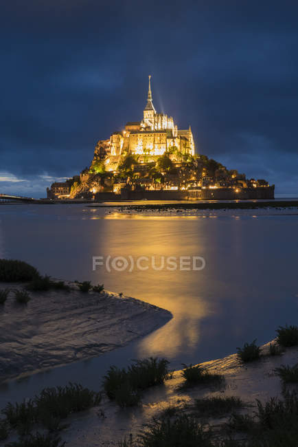 Mont-St-Michel, Normandy, France — Stock Photo