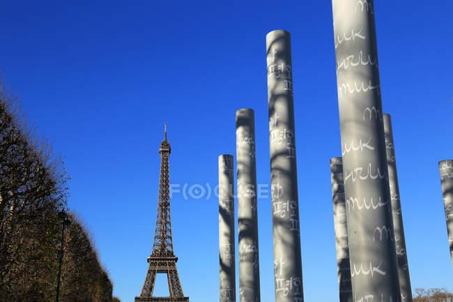 Eiffelturm, paris — Stockfoto