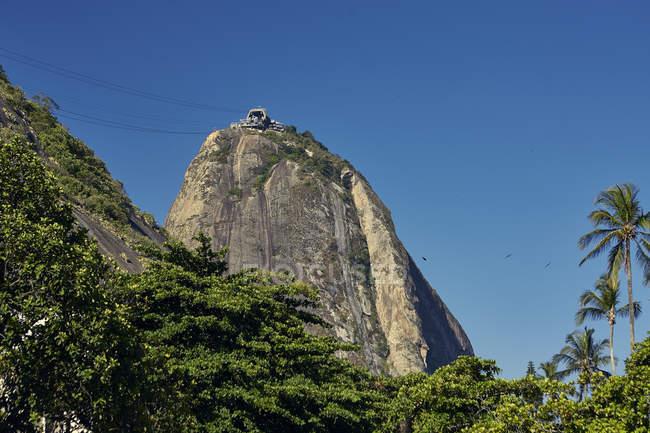 Sugarloaf mountain, Rio de Janeiro — Stock Photo