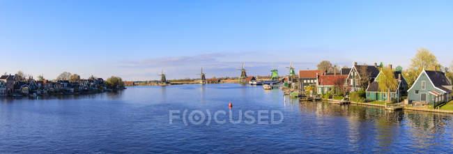Реки Заан, Северная Голландия — стоковое фото