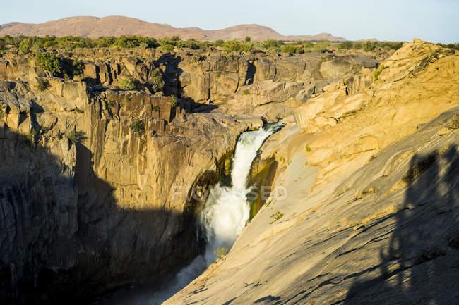 Augrabie Falls, Sudáfrica - foto de stock