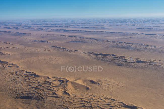 Песчаные дюны в пустыне Намиб — стоковое фото
