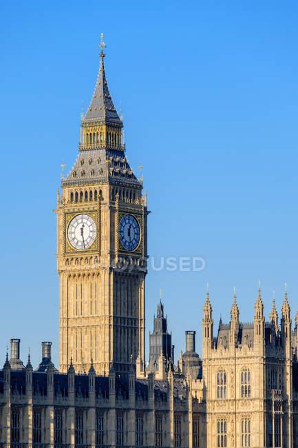 Orologio Torre del Big Ben — Foto stock