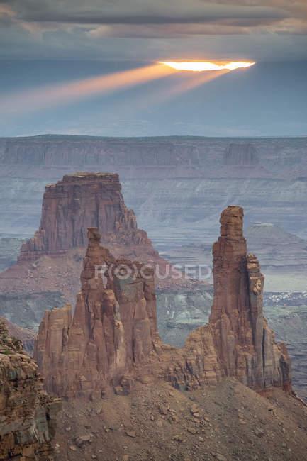 Национальный парк canyonlands — стоковое фото