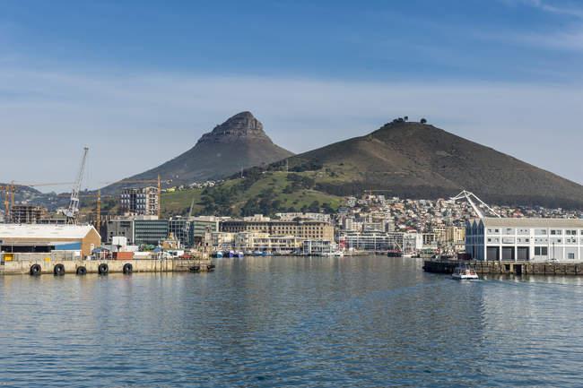 Skyline von Kapstadt — Stockfoto