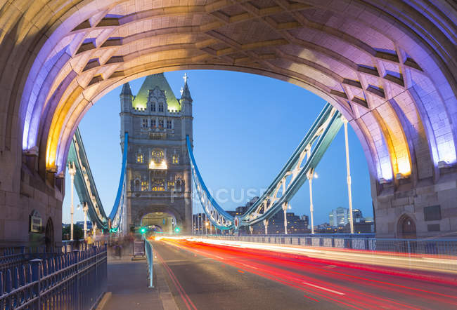 North Tower of Tower Bridge — Stock Photo