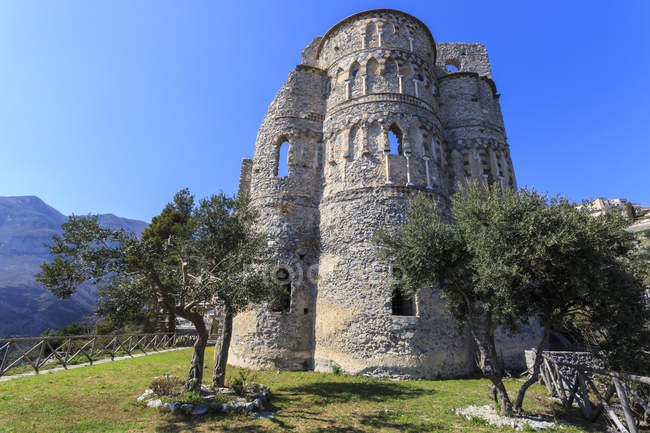 Amalfi e Torre dello Ziro, Costa Amalfitana — Fotografia de Stock