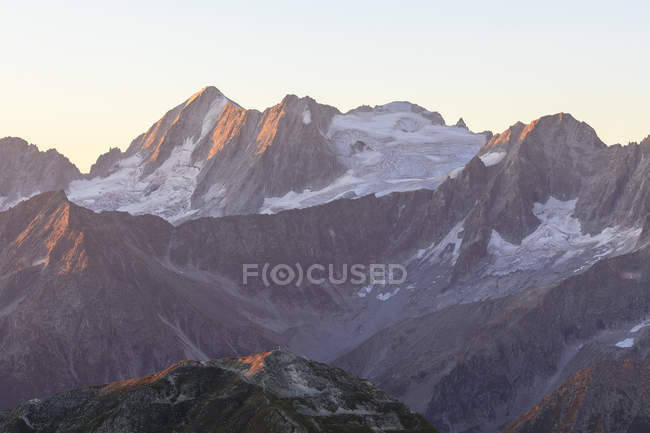 Rocky peak of Cima Presanella — Stock Photo