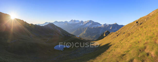 Panorama of Cima Presanella — Stock Photo