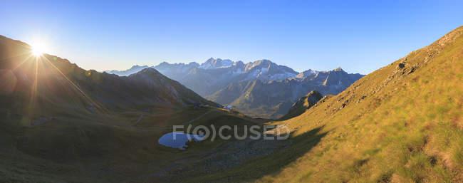 Panorama di Cima Presanella — Foto stock