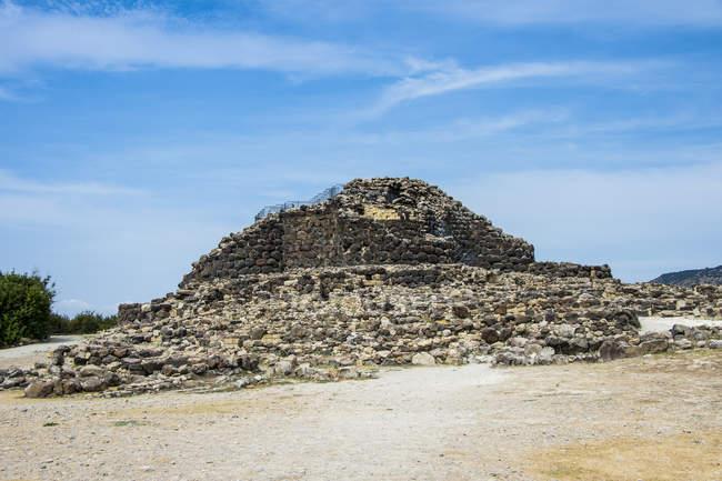 Su Nuraxi, sítio arqueológico de nuragico — Fotografia de Stock