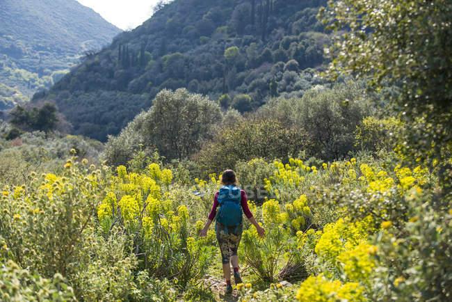 Península de Mani en el Peloponeso - foto de stock