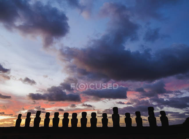 Nationalpark Rapa Nui — Stockfoto