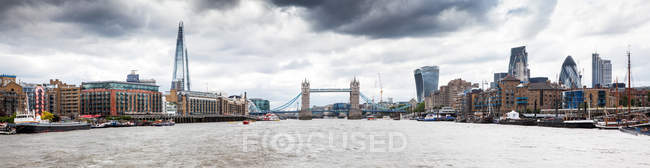 Panorama of London, United Kingdom — Stock Photo