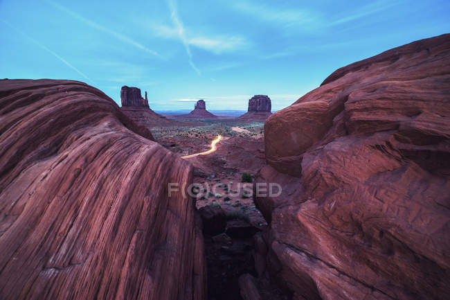 Valle del monumento, arizona — Foto stock