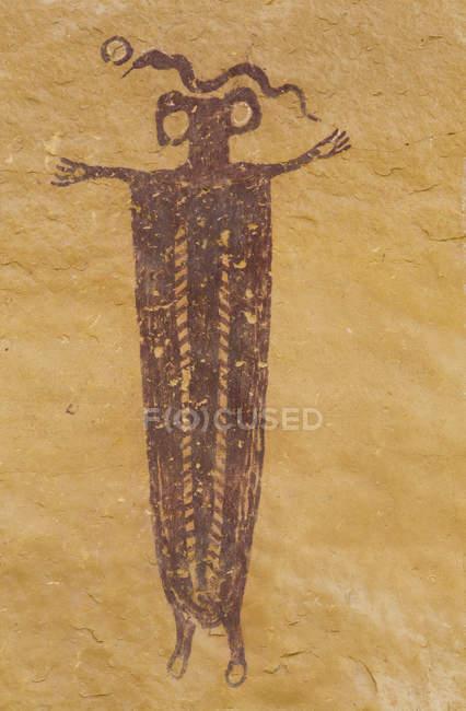 Руководитель группы Sinbad пиктограмму — стоковое фото