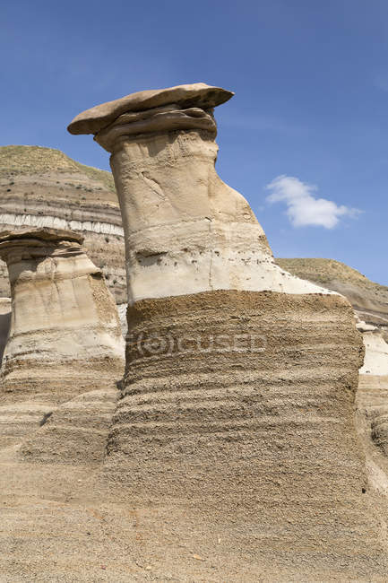 Rock formations formed by the erosion — Stock Photo