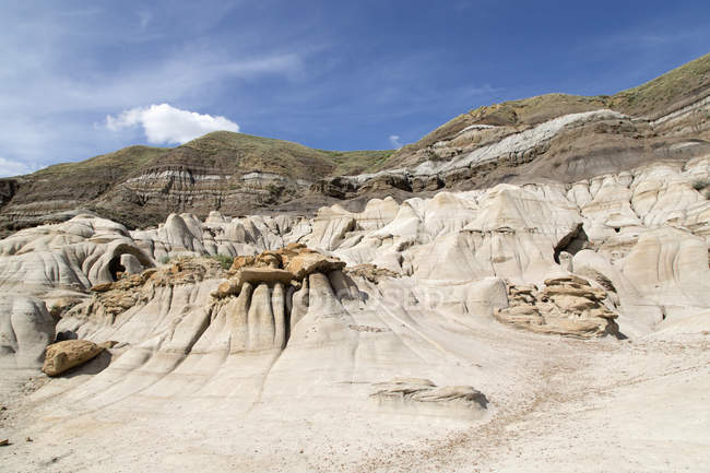 Rock formations formed by erosion — Stock Photo