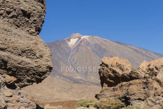 Mount Teide volcano — Stock Photo