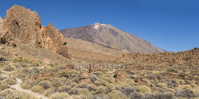 Le teide volcan — Photo de stock