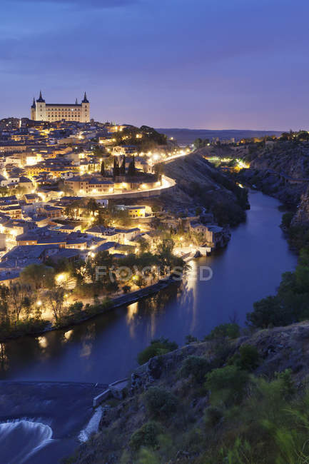 Tajo River at Alcazar — Stock Photo