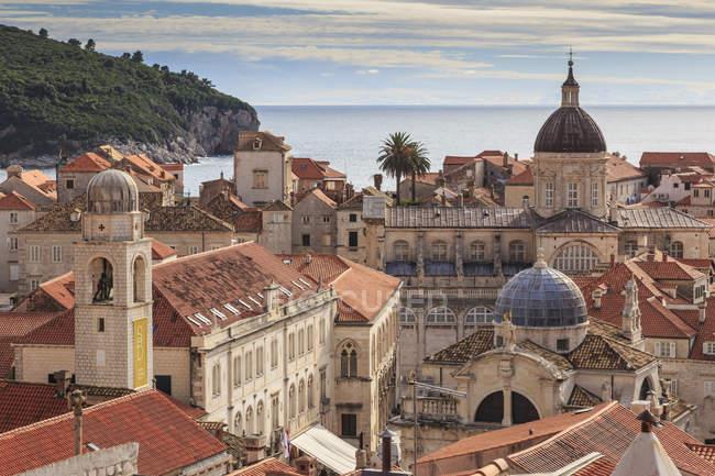 Исторический Старый город Дубровник — стоковое фото