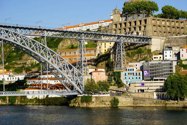 Bridge Ponte de Dom Luis I — Stock Photo