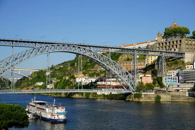 Ponte de Dom Luis I bridge — Stock Photo
