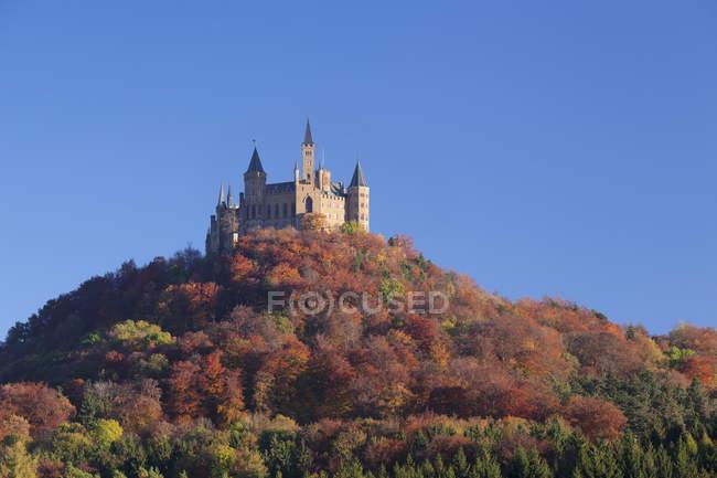 Hohenzollern Castle in autumn — Stock Photo