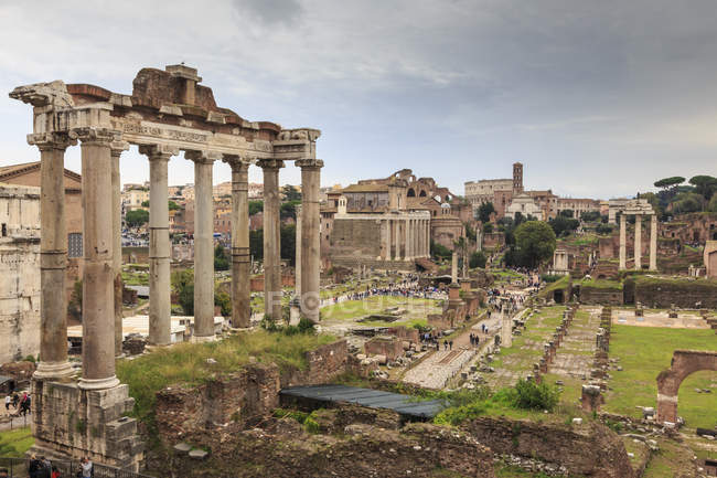 Roman Forum ruins — Stock Photo
