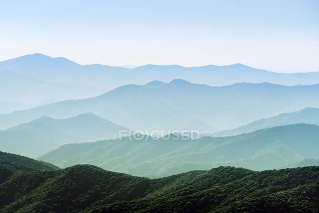 Грейт-Смокі-гори національного парку — стокове фото