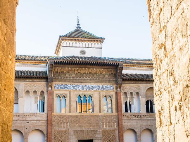 Esterno del Palazzo dell'Alcazar — Foto stock