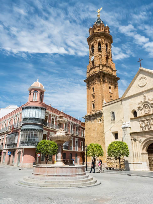 Church of San Sebastian — Stock Photo