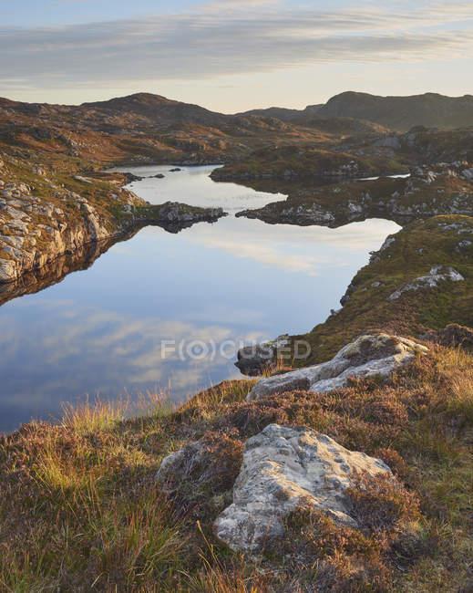 Landscape of Maiden Loch — Stock Photo