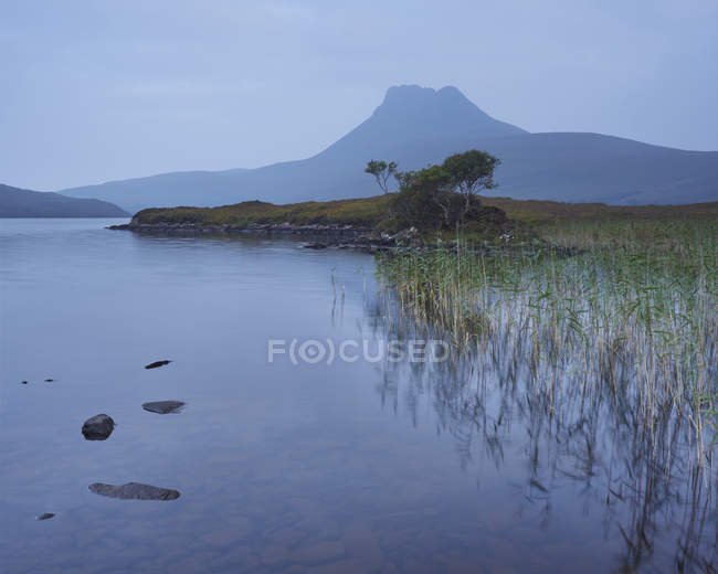 Stac Pollaidh mountain — Stock Photo