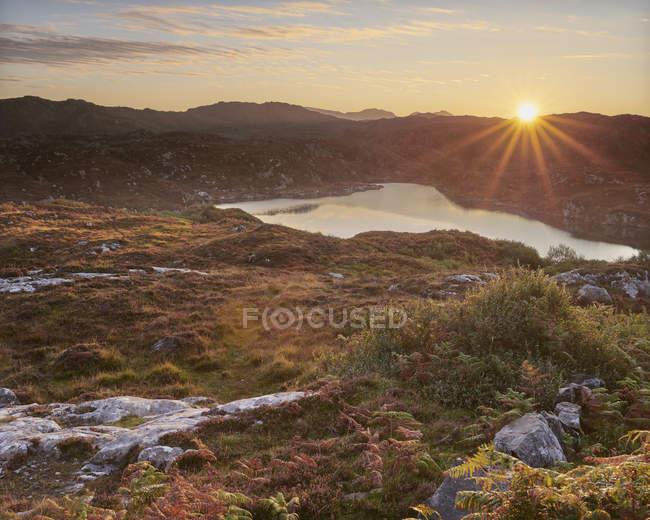 Sunrise at Maiden Loch — Stock Photo