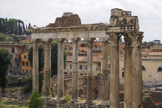 Roman Forum ancient ruins — Stock Photo