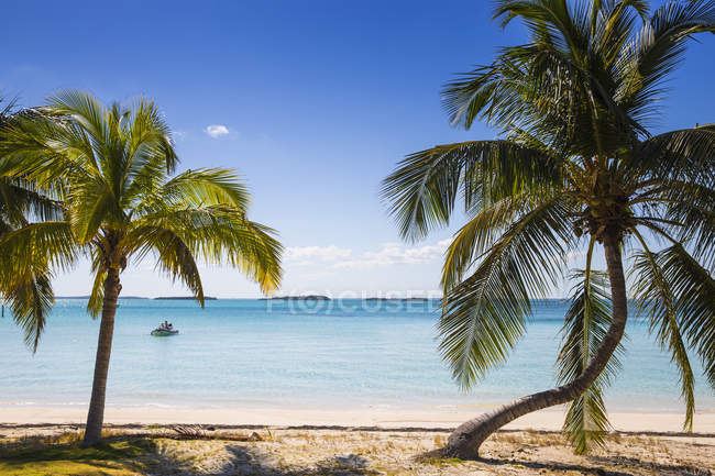 Beach in Hope Town — Stock Photo