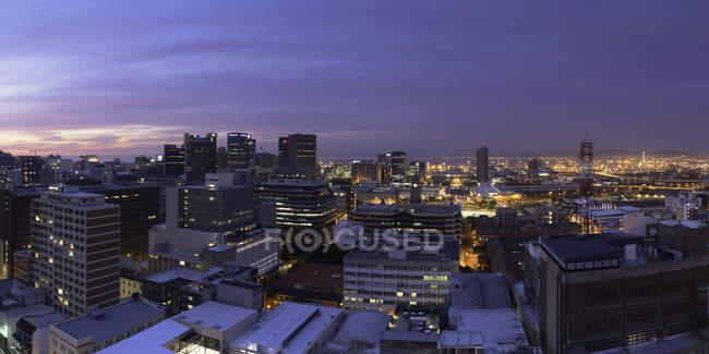 City Bowl bei Sonnenuntergang — Stockfoto