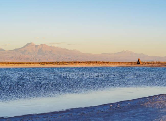 Laguna Piedra al tramonto — Foto stock