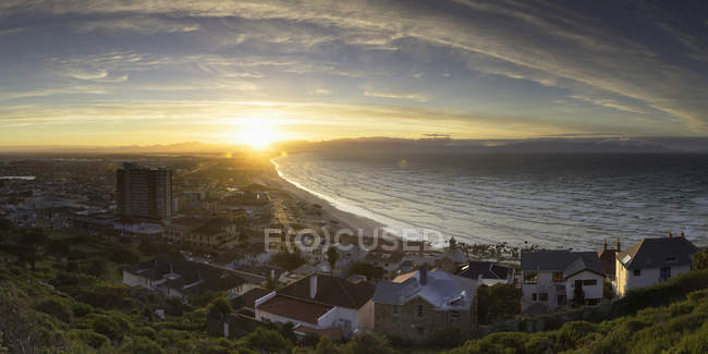 Muizenberg Beach at sunrise — Stock Photo