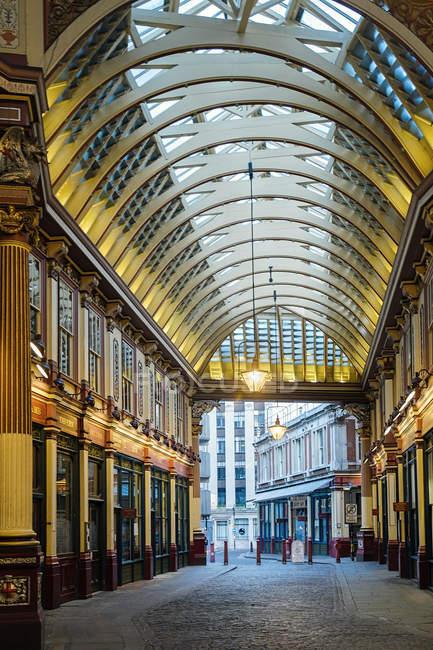 Historical Leadenhall Market, London, England, United Kingdom — Stock Photo