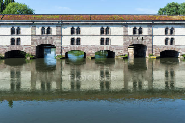Barrage Vauban bridge — Foto stock