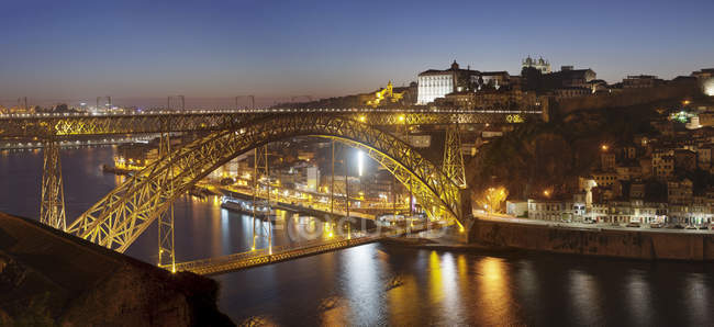 Ponte Dom Luis I Bridge — Stock Photo