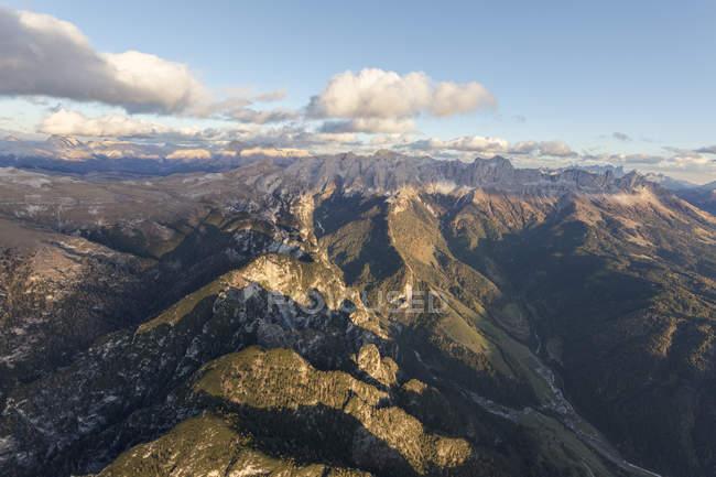 Pics rocheux du Catinaccio groupe — Photo de stock