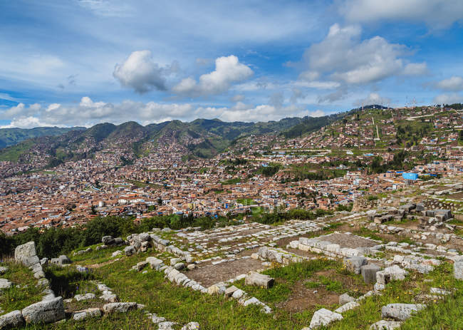 Sacsayhuaman Ruins in Cusco Region — Stock Photo