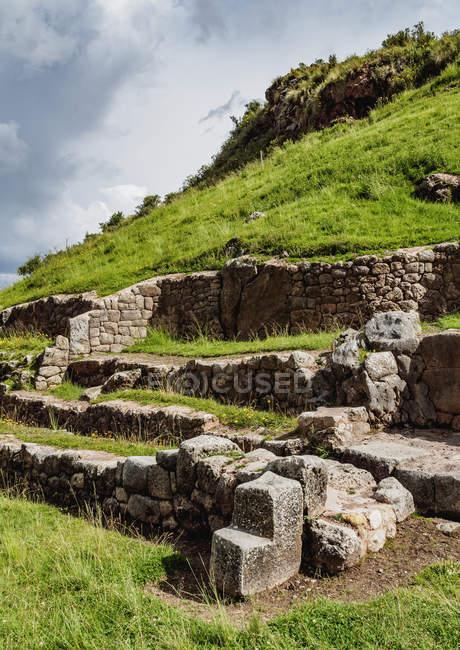 Tambomachay Ruins in Cusco Region — Foto stock