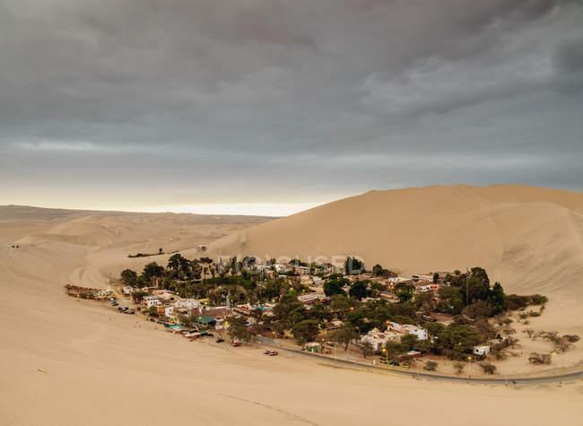 Oasi di Huacachina a Ica Region — Foto stock