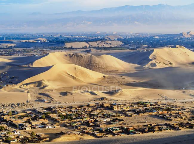 Піщані дюни Іка пустелі — стокове фото