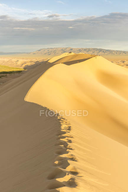 Dunas de areia de Khongor — Fotografia de Stock